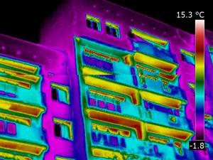Badanie termowizyjne bloku