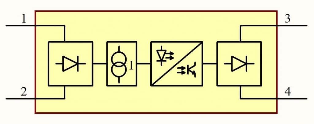 schemat separatora sygnałów