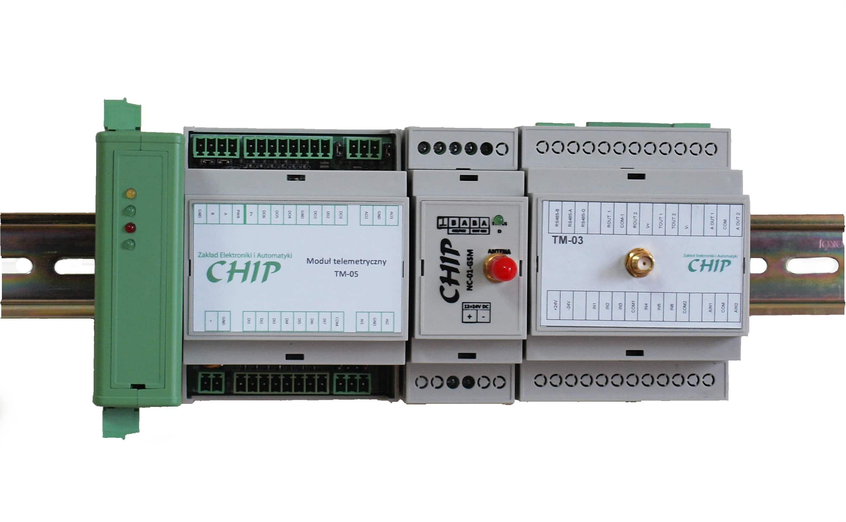 Urządzenia dla telemetrii