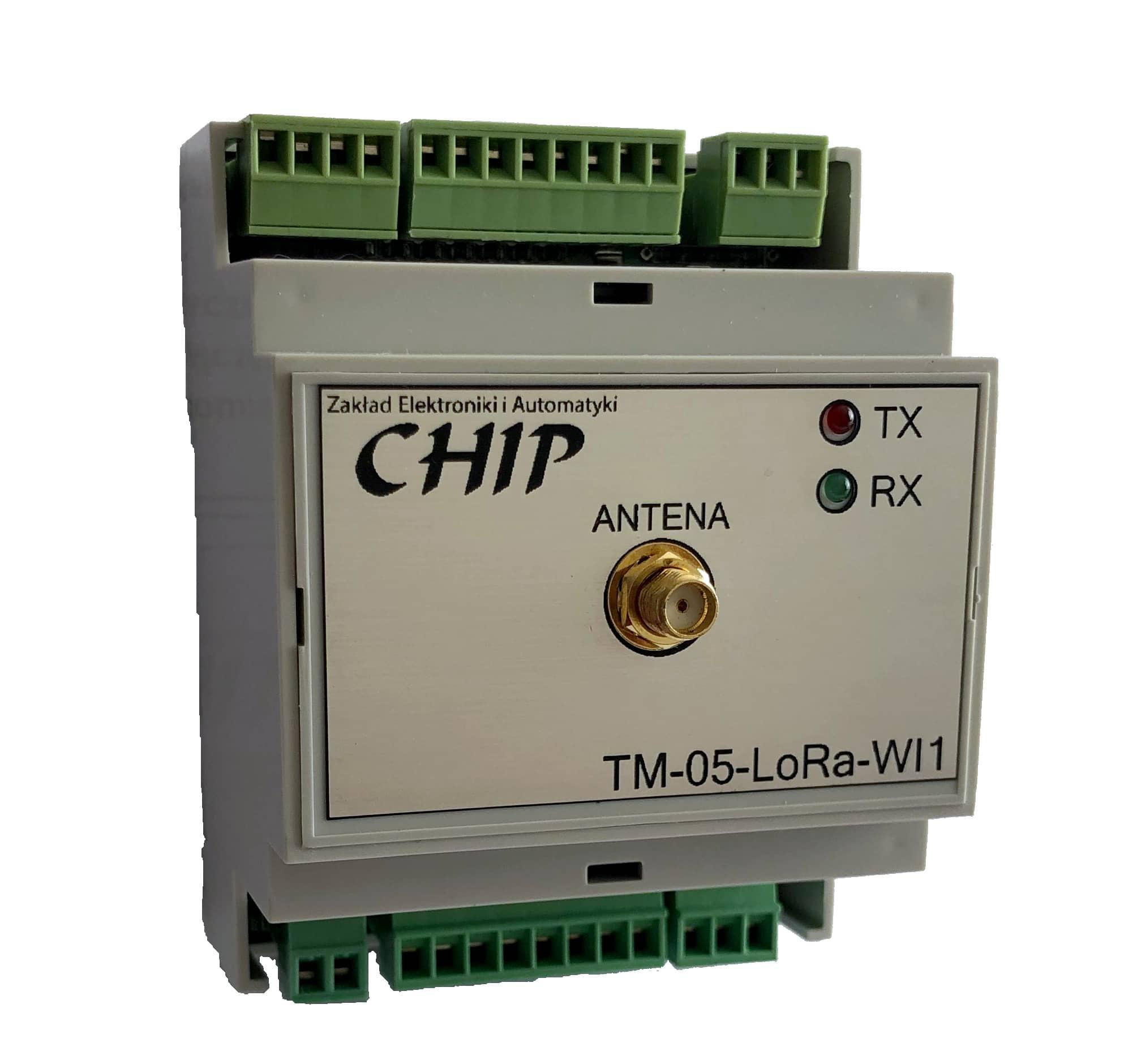 Bezprzewodowe łącze sygnałowe TM-05-LoRa-WI
